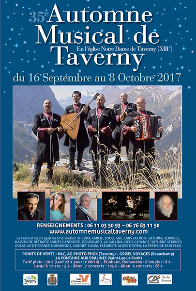 Automne Musical 2017