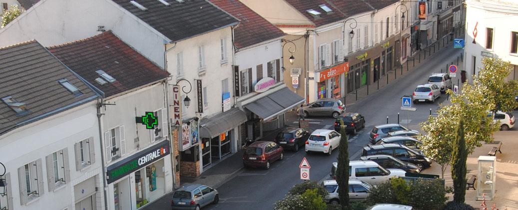 La Poste Taverny Hotel De Ville