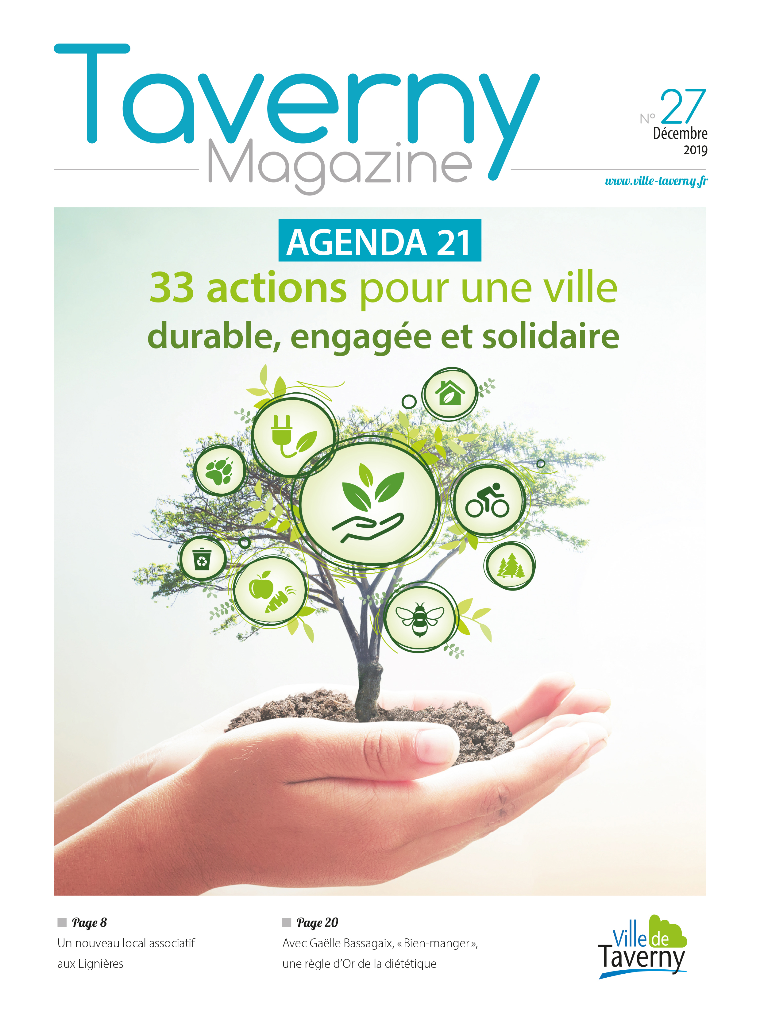 Couverture Taverny Mag' 27